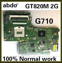Placa base portátil Abdo Lenovo G710 DUMB02 MIAIN placa base PGA947 GT820M 2G HM87 DDR3 100% prueba OK(China)