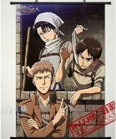 Home Decor Anime new Shingeki no Kyojin /Attack on Titan POSTER WALL Scroll A