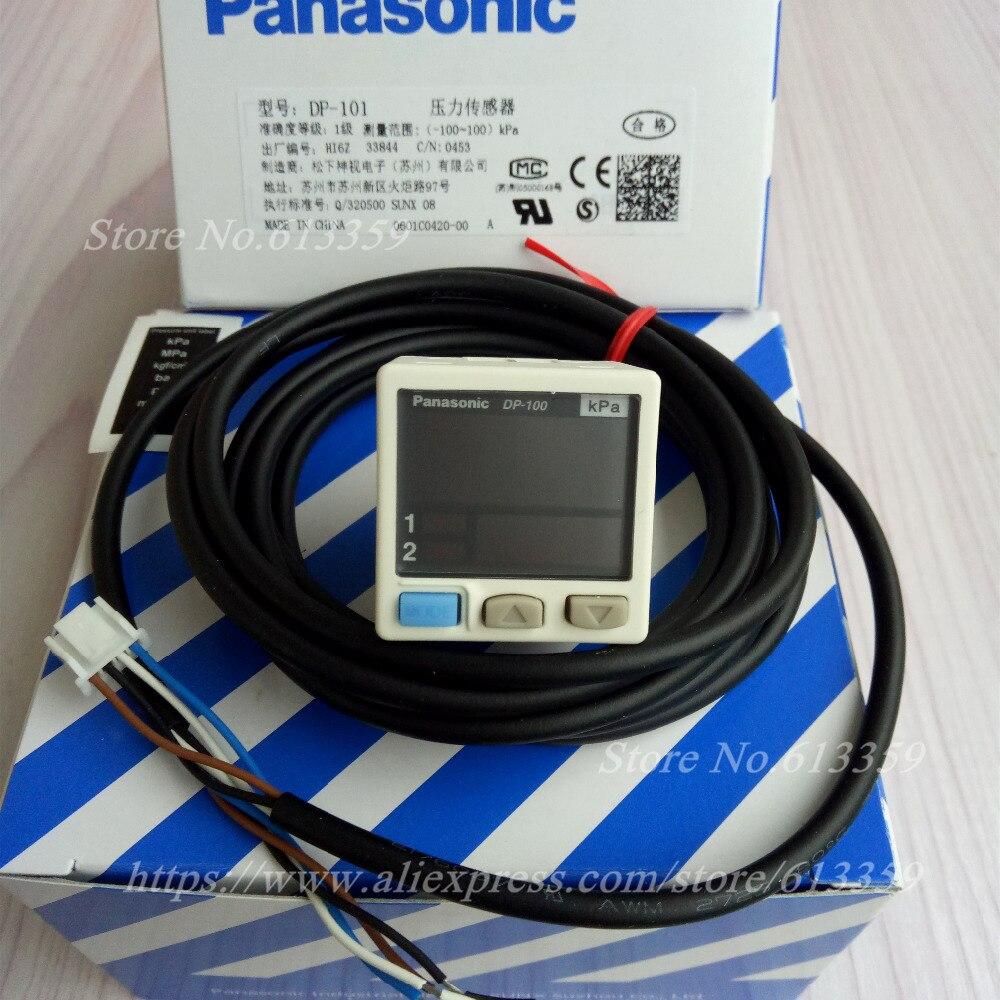 Contrôleur de pression de capteur de pression négative de vide numérique de DP-101 NPN-100 à + 100 kPa 100% nouveau et Original
