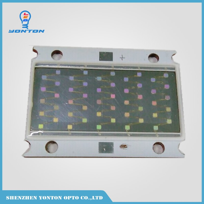 50W 395nm UV High Power Ultraviolet Led Light source for Ink Curing 10pcs 10w 7070 uv 395nm 365nm led curing lamp 2 parallel 2 series 6 3 6 5v 1500ma led emitter light for curing ink 3d printer