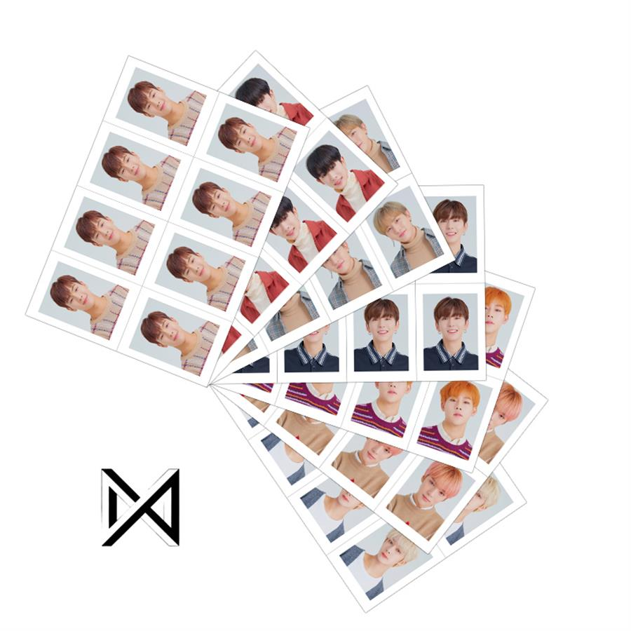Kpop Monsta X Members Are You There Collective Cards WonHo Photocards School ID Photo 1 Sheet