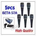 5pcs wholesale High Quality Beta 57A Clear Sound Handheld Wired Karaoke Microphone