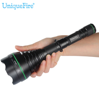 UniqueFire New Design High Power Infrared LED Flaslight Zoomabe Night Vision Torch By 18650 Rechargable Battery