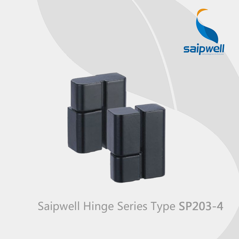 Saipwell sp203 4 heavy duty steel gate hinges concealed for Glass cabinet hinges