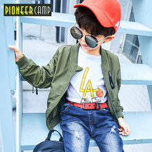 Pioneer Camp new Kids spring casual jackets for children