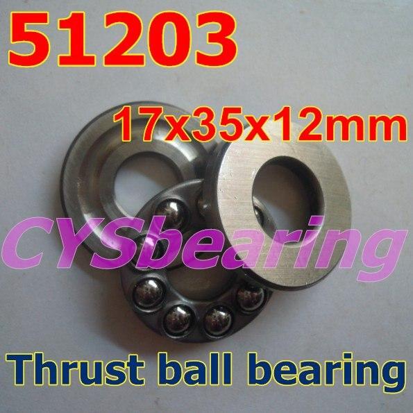 2pcs 51201 12x28x11mm Plane Axial Ball Thrust Bearing 12mm x 28mm x 11mm 3-Parts