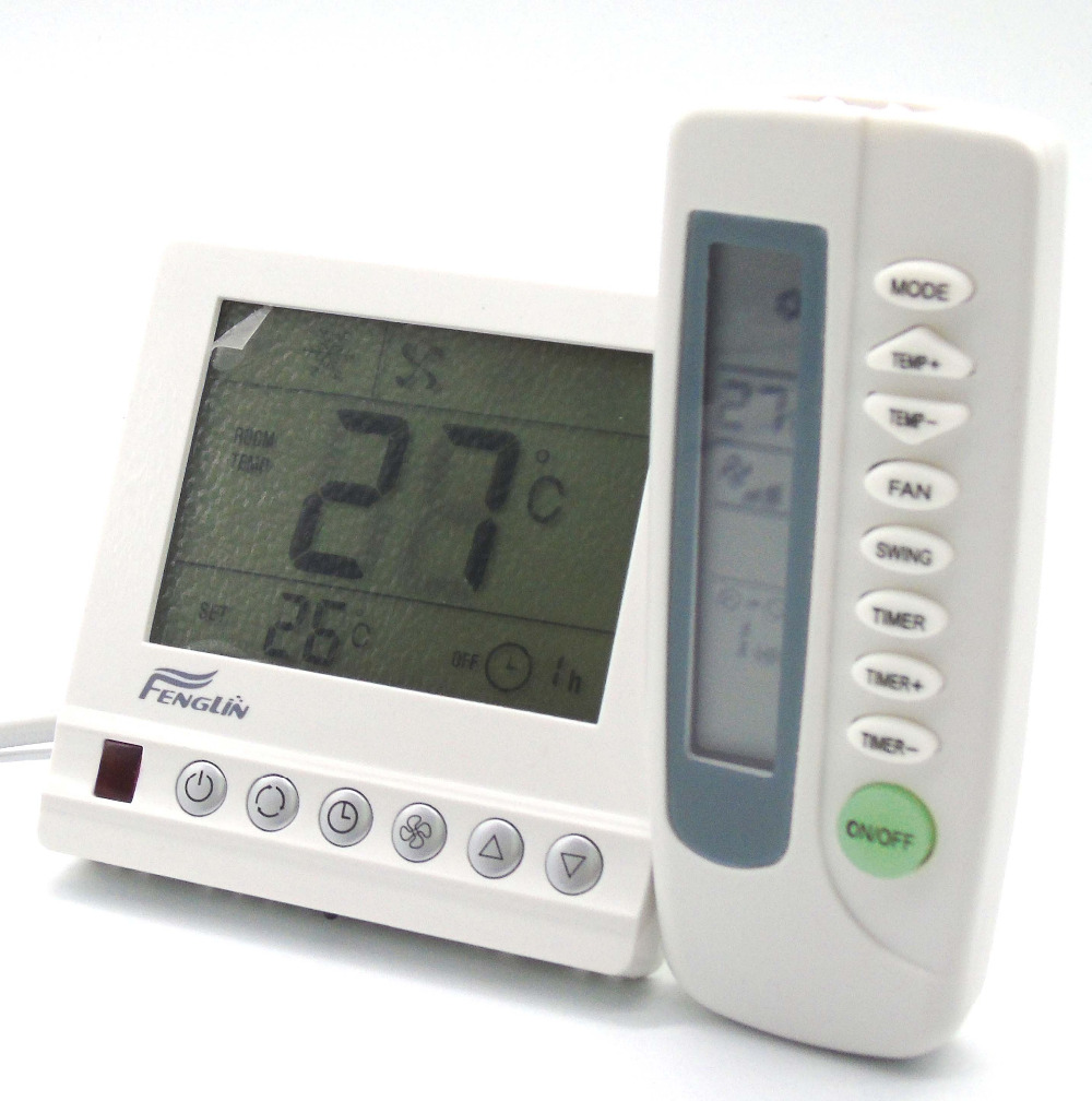 3 Speeds cold and hot Digital thermostat regulator with LCD remote control