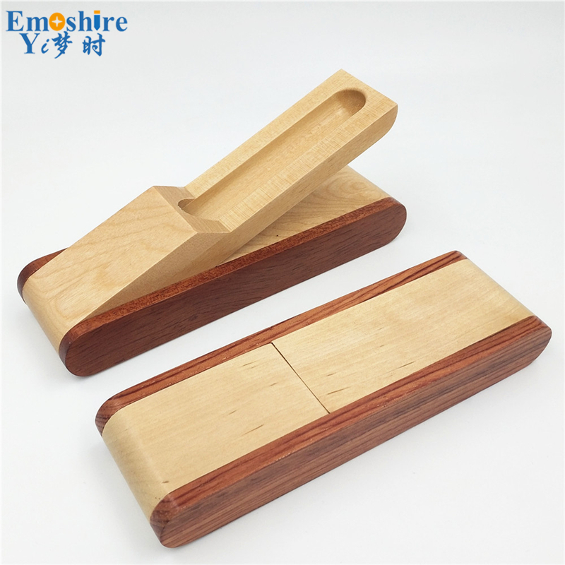 Wholesale Fashion Custom Wooden Pencil Box Puzzle Folding Pencil Case Pencil Box Pen Gifts Box for School Office Supplies B011 new arrival office school supplies pencil box wood pencil cases unique design wooden pencil cases b034