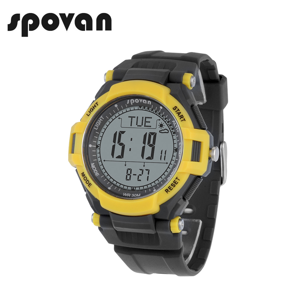 Spovan Multifunction Mens Watch 50m Waterproof Led Backlight Compass 3d Pedometer Calorie Count Military Sport Watches Leader2 A Great Variety Of Models Men's Watches