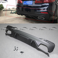 For 17 18 BMW 5 Series G30 MP Style Type 2 Cover Car Styling Rear Bumper Diffuser Lip ABS Protector