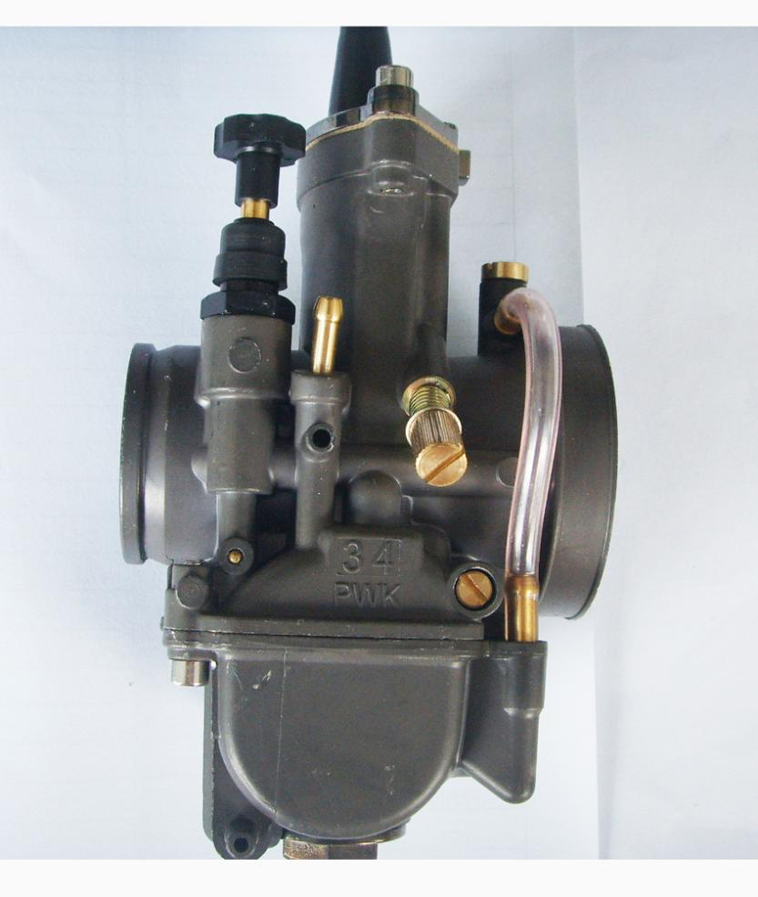 PWK 28mm 30mm 32mm 34mm Black Carburetor with Power Jet Universal Motorcycle RACING Carb Scooters dirt