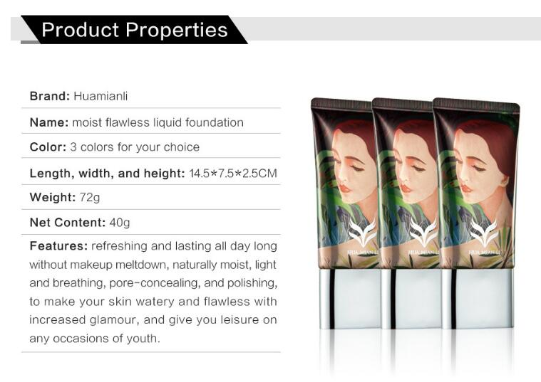 BB CC Cream Foundation Wet Powder Concealer Whitening