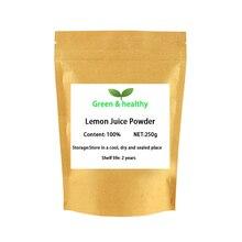 Чистый натуральный порошок лимонного сока/чай с лимоном порошок/Лимонная пудра