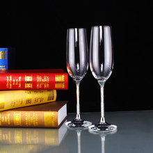 Heart Shaped Crystal Cup Red Wine Glasses Toasting Glasses for Weddings Champagne Goblet Wedding Cup Gift box packaging 2pc/set