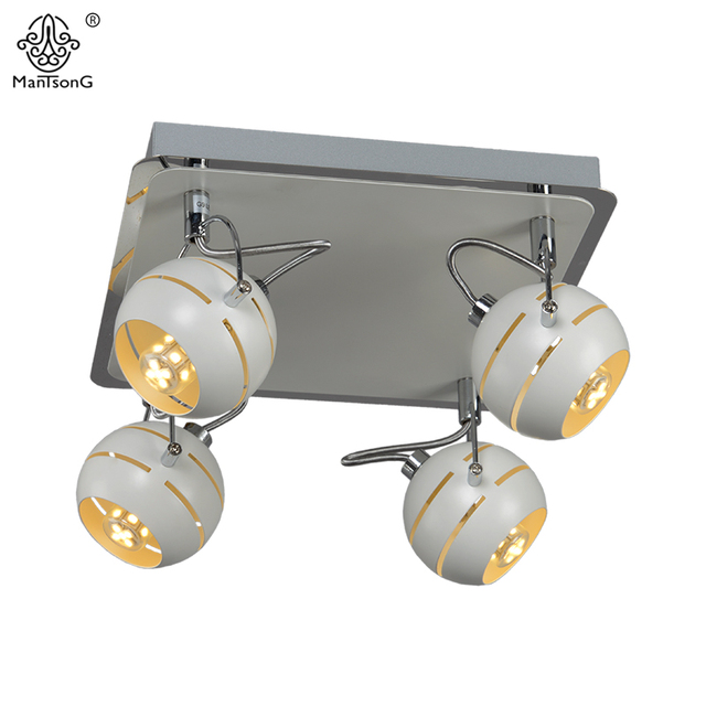 New iron led ceiling spotlight for bedroom modern track light new iron led ceiling spotlight for bedroom modern track light white warm lighting minimalism style led mozeypictures Choice Image