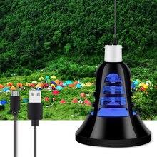5V USB Misquito Killer Lamp LED Bulb E27 Electric Mosquito Trap 220V Home Pest Control 110V Bug Zapper Two Modes 2 in 1