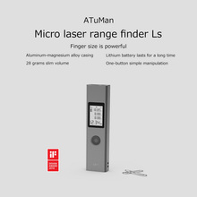 LS-1 Mini Laser Rangefinder 40M Distance Meter Digital LCD Intelligent Tape Roulette Measure Metro Tool
