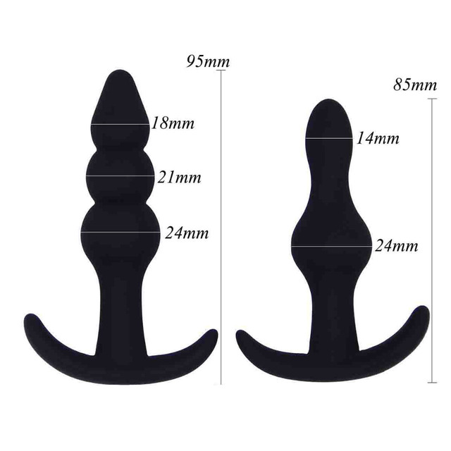 Male Prostate Massage Anal Plugs