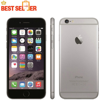 Unlocked Apple iPhone 6, 1664128GB ROM, 4.7inch IOS ,4G LTE Smartphone, Gifts Case+Tempered Film ,8.0MP Camera, Mobile Phone iphone 6