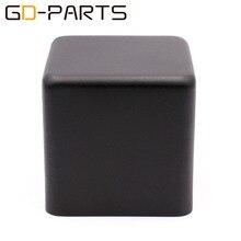 1 pc 123*123*120mm preto ferro transformador capa metal triode proteger caixa caso gabinete de áudio alta fidelidade do vintage tubo amplificador diy
