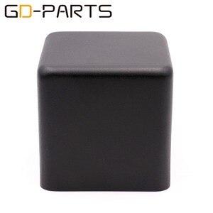 Image 1 - 1 pc 123*123*120mm preto ferro transformador capa metal triode proteger caixa caso gabinete de áudio alta fidelidade do vintage tubo amplificador diy