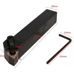 Image 4 - SHGO Set of 20mm Lathe Turning Tool Holder MWLNR2020K08 + 10 WNMG0804 Carbide Inserts