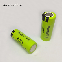 5pcs/lot New Genuine Battery For Panasonic 26650A 3.7V 5000mAh High Capacity 26650 Li-ion Rechargeable Batteries