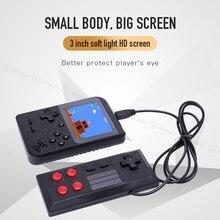Mini consola de juegos portátil de 3,0 pulgadas LCD de 8 bits, de bolsillo, con 400 Juegos retro