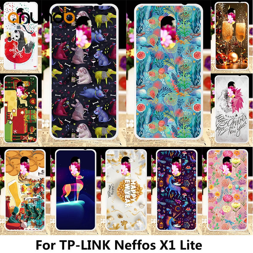 Rubber Painted Phone Cases For  TP-LINK Neffos X1 Lite Case Silicone Back Cover For TP link TP904A TP904C Fundas Phone Bumper