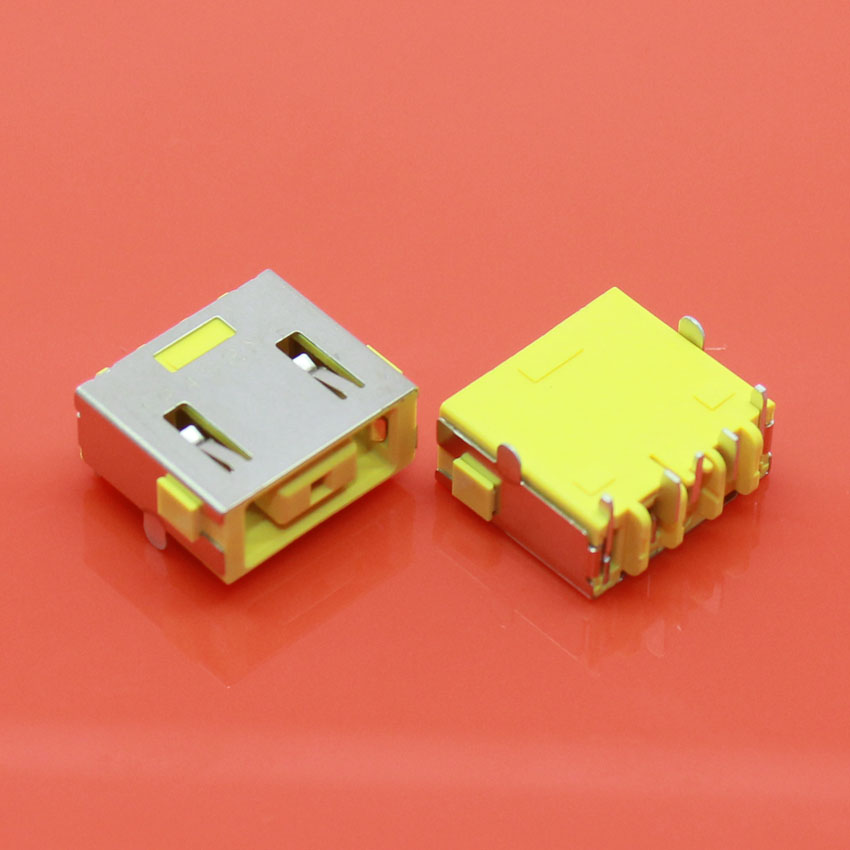 cltgxdd 10X New Power ,DC Power Jack Connector for Lenovo Yoga 11 13 and other super-DC Jack Without cable square head DC Jack