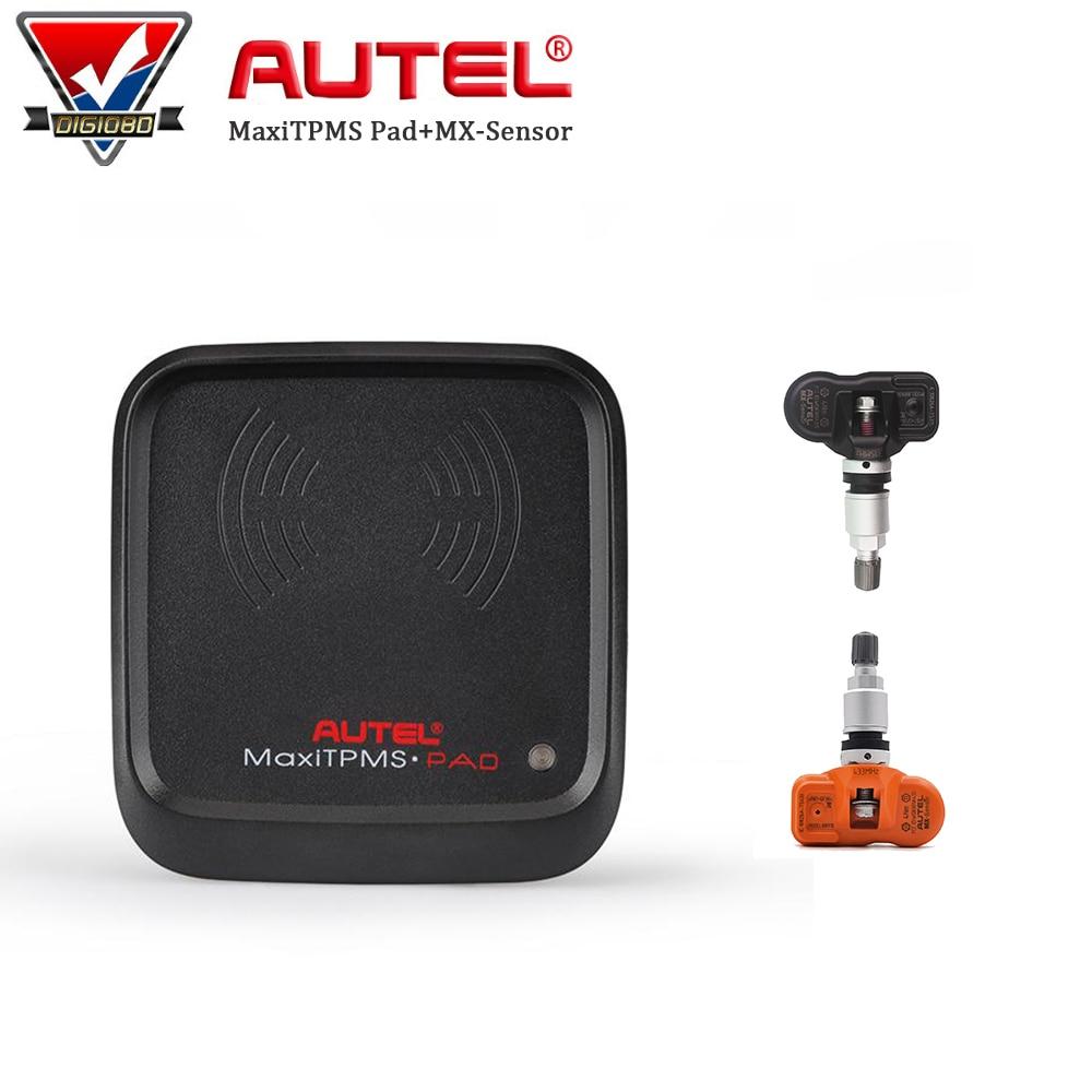 Original Autel MaxiTPMS PAD TPMS Programmer Tire Pressure Sensor MX Sensor 433MHz/315MHz TPMS Activation Tools