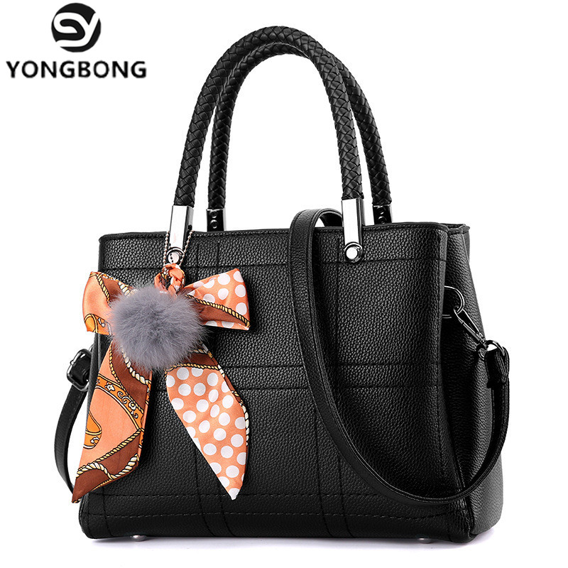 YONGBONG Women Bag Original Female Briefcase Handbag OL Shoulder Bag PU Messenger Bags Casual Crossbody Bags Purse Satchel Tote gorenje df 6316 bxsc