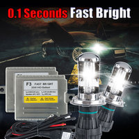 Headlight H4 3 Hi Lo XENON HID KIT 35W F3 4300k 5000k 6000k 8000k hid bi xenon