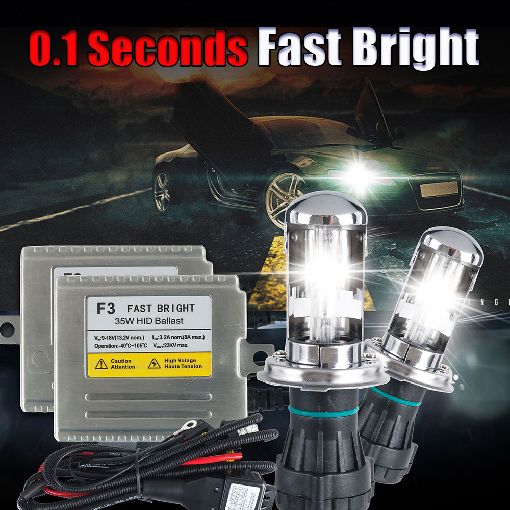 Ampoules 2x H7 DEL CREE 6500K 72 W blanc phares Haute Faisceau BMW Série 5 E60 E61