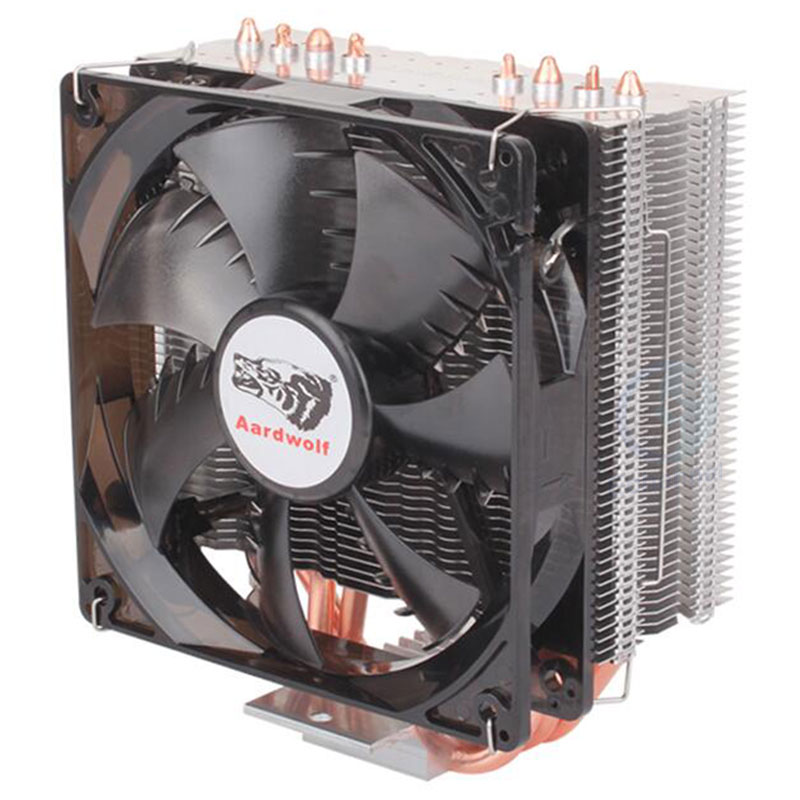 Hot Style 400 Version Of Desktop Computer CPU Heat Pipe Radiator 4PIN CPU Fan XuanBing Ultra-Quiet Fans 12v Cooling Heatpipe Fan synthetic graphite cooling film paste 300mm 300mm 0 025mm high thermal conductivity heat sink flat cpu phone led memory router