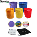5 Gallon 5Bag Kit Free Press Screen Bubble Ice Bags 5 Gallon Hash Herb Oil Extraction Oxford Filter Bags Garden Grow Bag 5 Color