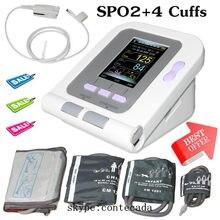 Ce monitor de pressão arterial digital 08a + infantil pediatria/criança/adulto punhos + sp02 contec