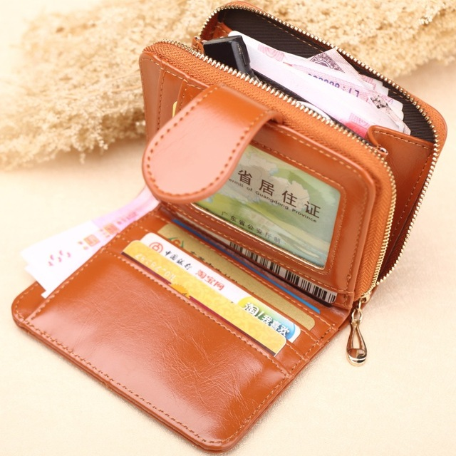 Button Purse | Small Wallet