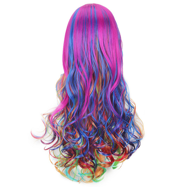 Rockstar Multi-colored Wig