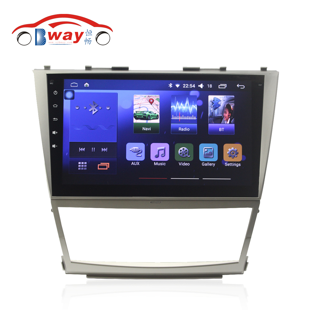 Free shipping 10 2 Car radio for Toyota Camry 2006 2011 Quadcore Android 6 0 car