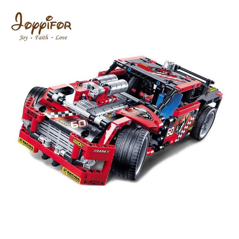 JOYYIFOR 608 pièces Legoings Course Camion Voiture 2 En 1 Transformable Modèle Blocs De Construction Jouet Kit bricolage Éducatif Noël Anniversaire
