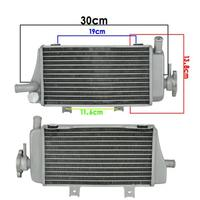 Motorcycle Aluminium Cooling Radiator Left Righ for Honda LD450 CRF450R 2005 2006 2007 2008 CRF450 R 05 06 07 08 CRF 450R