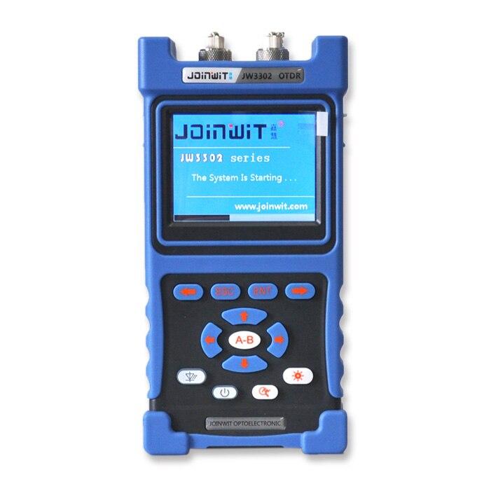 JoinWit JW3302B OTDR fiber tester 1310/1550nm 120km with English Espanol 30/28dB Connector Type SC/FC/STJoinWit JW3302B OTDR fiber tester 1310/1550nm 120km with English Espanol 30/28dB Connector Type SC/FC/ST