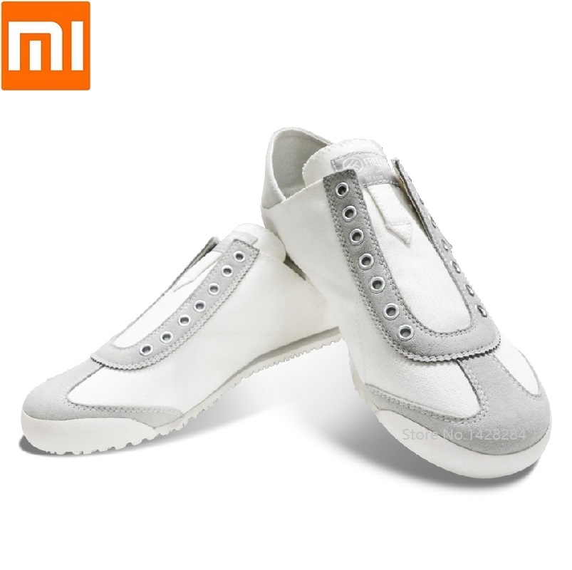 Xiaomi youpin FREETIE men casual canvas shoes Breathable Rubber outsole Slow shock male outdoor Walking Sports