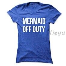 c14aa8b24 Sereia Off Duty camiseta Mermaid Tumblr inspirado Top Camisa Conto de Fadas  Presente Unisex Tees(