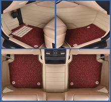 Myfmat custom foot leather car floor mat for TOYOTA HIACE COASTER Sienna Cruiser Solara COASTER LEVIN land cruiser free shipping илья либман как покупают автомобили в америке