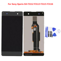 For SONY Xperia XA 5.0 inch F3111 F3112 F3115 F3116 LCD Display Digitizer Panel Assembly with Free Tools