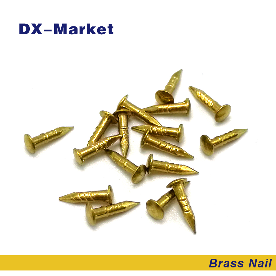 m1.5 brass nail , DIY hardware accessories nails 1.5*10mm 1.5*12mm 1.5*15mm 1.2*20mm anti rust brass nails ,