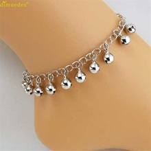 Diomedes Newest Anklets Women Girl Fashion Women Bells Anklet Bracelet Sandal Barefoot Beach Foot Jewelry Charm