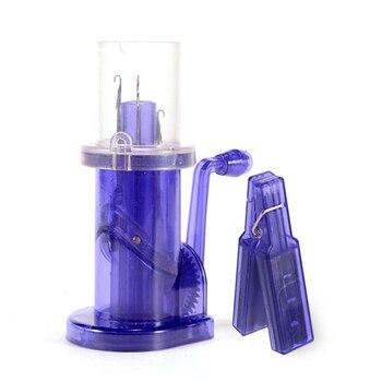 Creative מופעל ביד לייפות-לסרוג סריגה מכונת סליל סורג לייפות קרפט צמיד Weave כלי